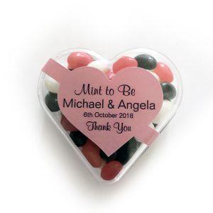 Heart jelly beans