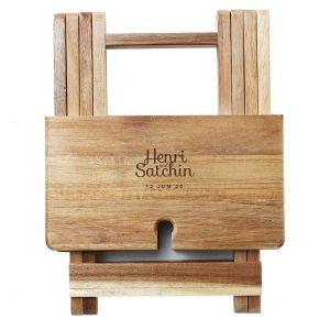 Foldable Cheese & Wine Board