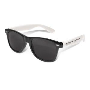 Malibu Sunglasses - white arms