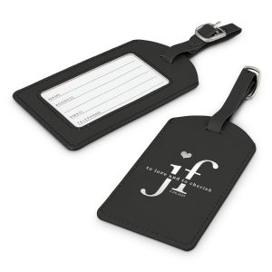 Leather-look Luggage Tag