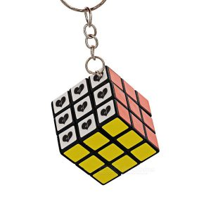 Authentic Rubik's Cube Keychain
