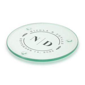 Round Glass Coaster